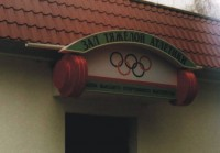 Weightlifting hall